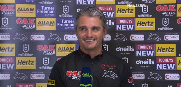 Press Conference: Round 9