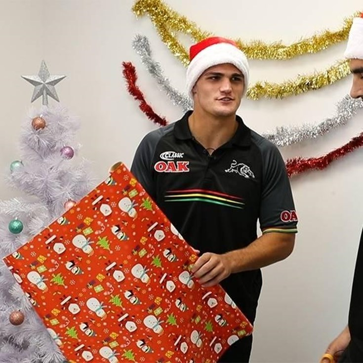Panthers Xmas Wrapping Challenge: Group 1