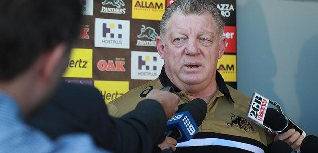 Phil Gould AM Press Conference