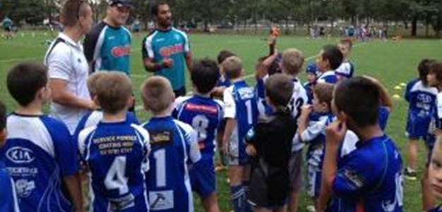 Panthers host junior league clinic