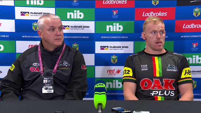 Panthers press conference - Round 10