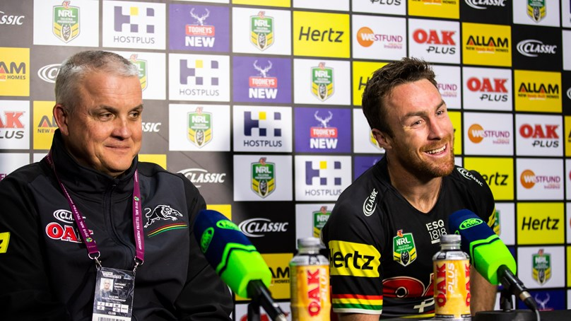 Panthers press conference - Round 12