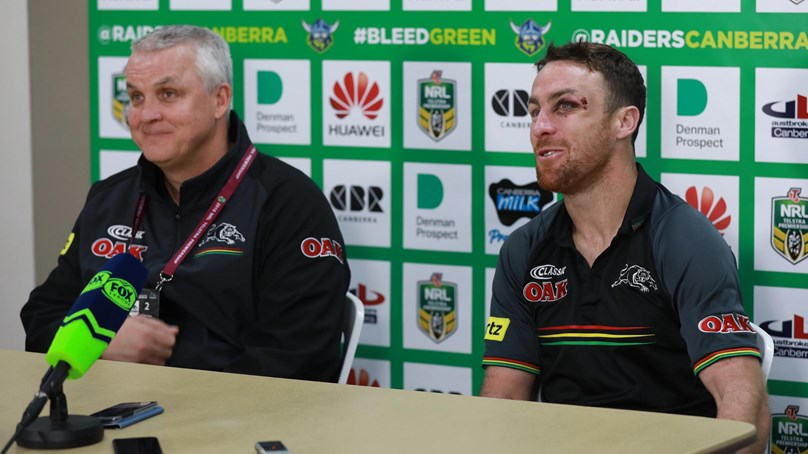 Panthers press conference - Round 14