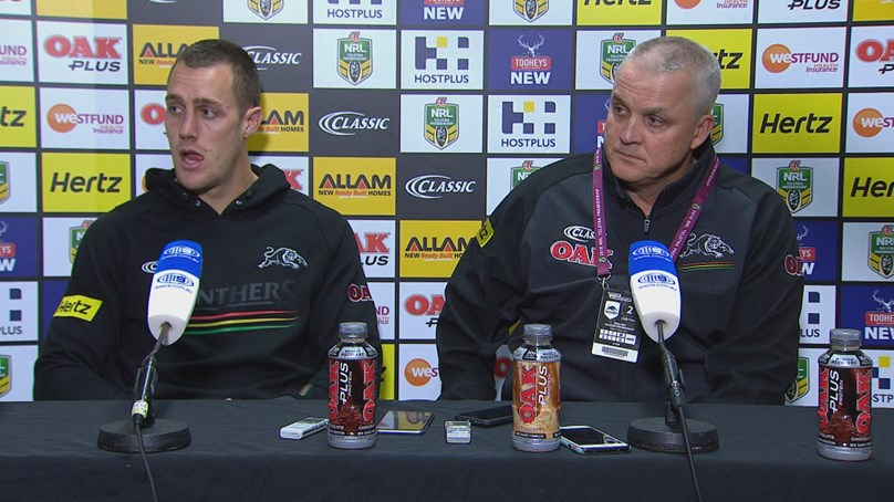 Panthers press conference - Round 17