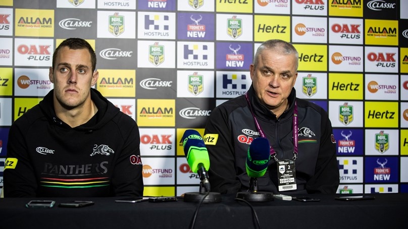 Panthers press conference - Round 18