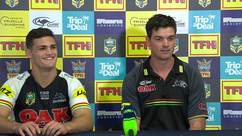 Panthers press conference – Round 22, 2018