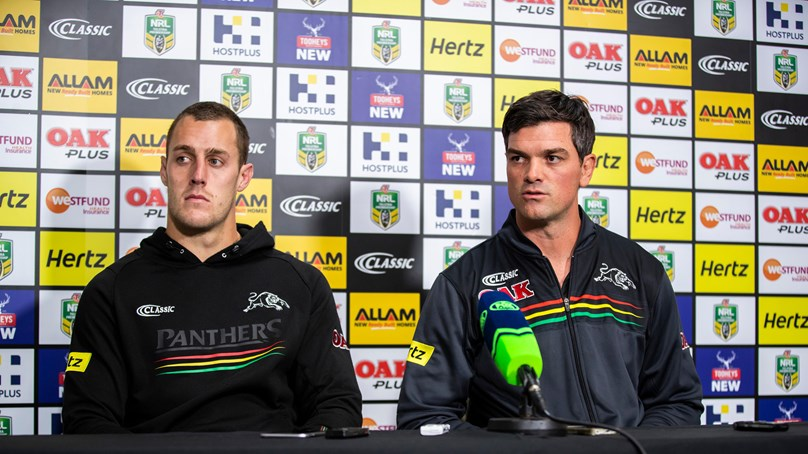 Panthers press conference - Round 23; 2018