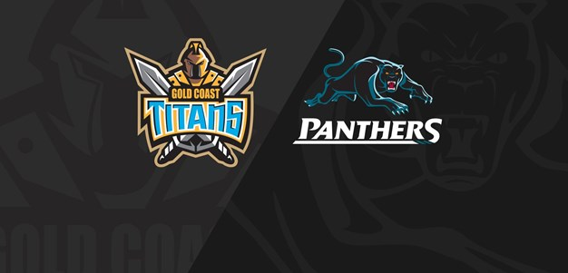 Rnd 22 2018 - Panthers v Titans