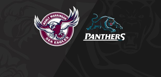 Rnd 20 2018 - Panthers v Sea Eagles