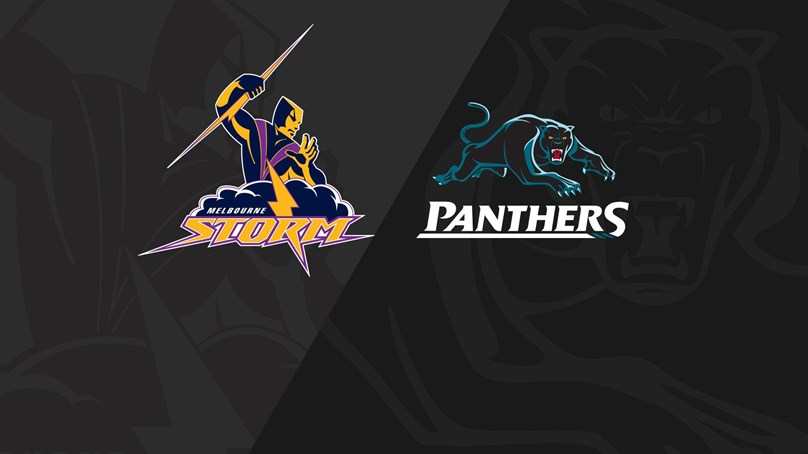 Rnd 25 2018 - Panthers v Storm