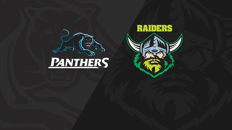 Rnd 21 2018 - Panthers v Raiders