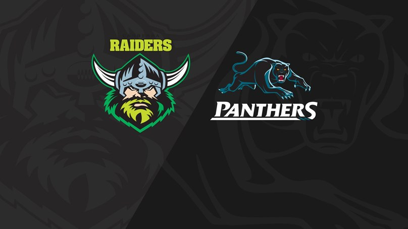 Rnd 14 2018 - Panthers v Raiders