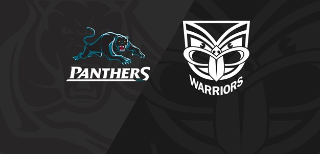 Rnd 17 2018 - Panthers v Warriors