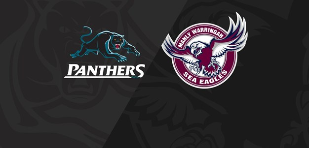 Rnd 16 2018 - Panthers v Sea Eagles
