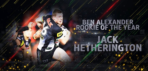 2018 Ben Alexander Rookie of the Year: Jack Hetherington