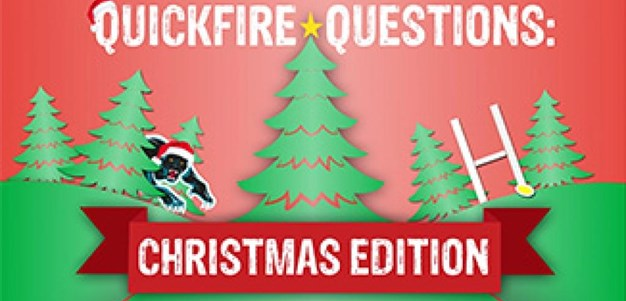 Quickfire Questions: Christmas Wish List