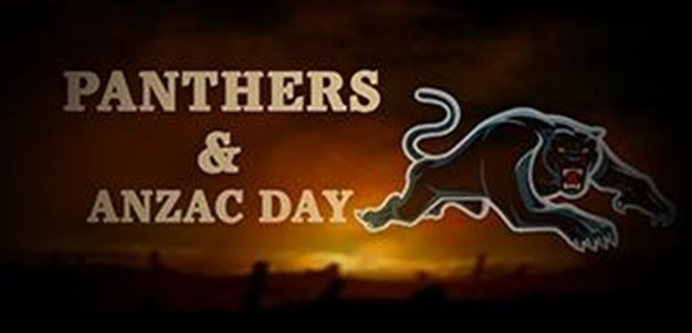 Panthers & Anzac Day
