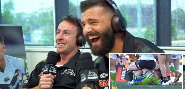 Amateur NRL Commentary: Maloney and Mansour