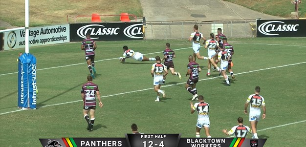 ISP Highlights: Panthers v Blacktown Workers