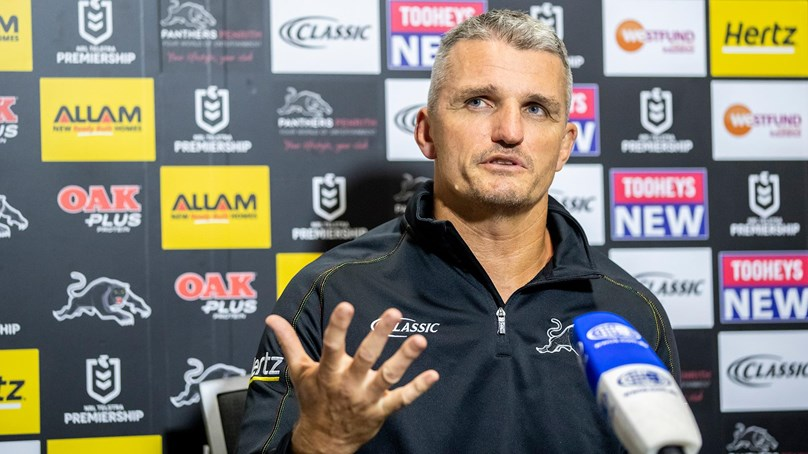 Press Conference: Panthers v Eels
