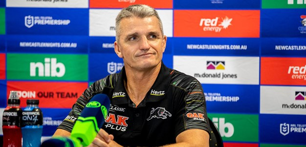 Press Conference: Panthers v Knights