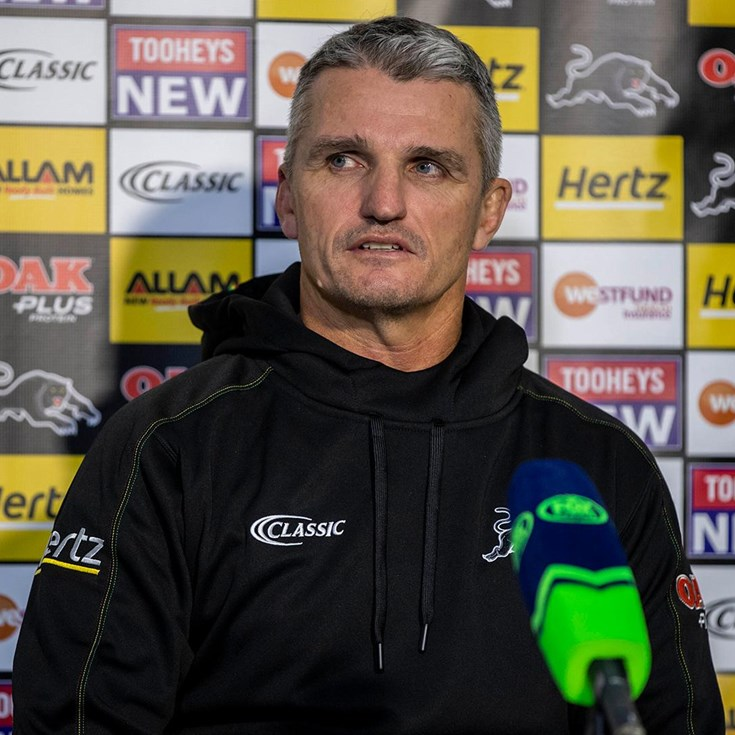 Press Conference: Panthers v Storm