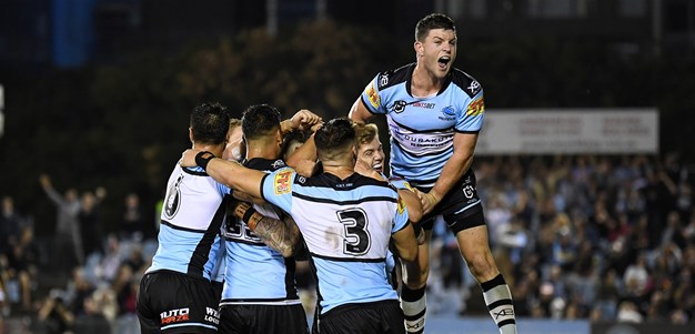 Match Highlights: Panthers v Sharks