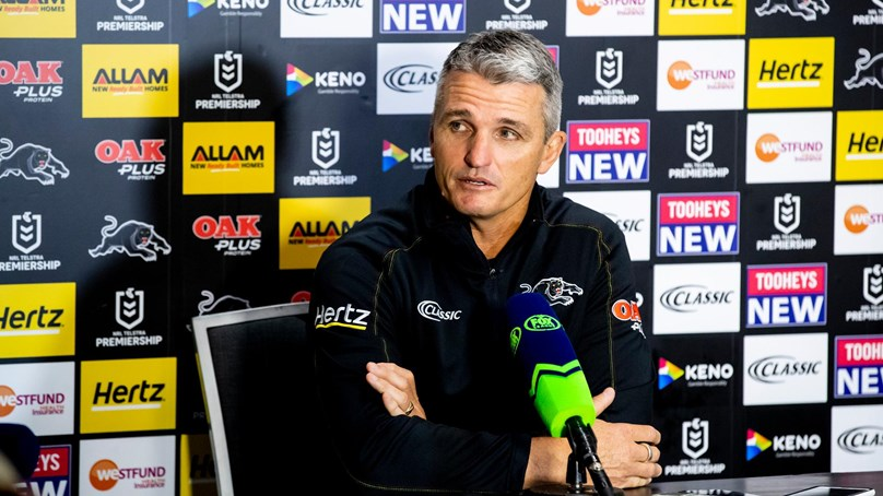 Press Conference: Panthers v Warriors