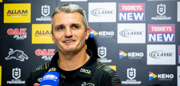Press Conference: Panthers v Roosters