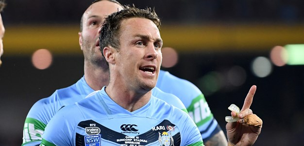 Maloney fired up after Origin recall