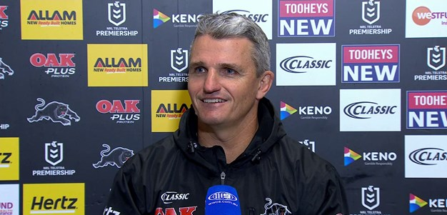 Press Conference: Panthers v Sharks