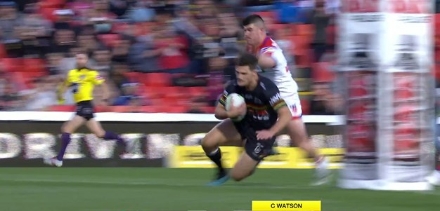 Cleary crosses for his fourth try