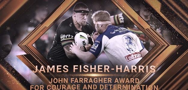 2019 John Farragher Award for Courage and Determination: James Fisher-Harris