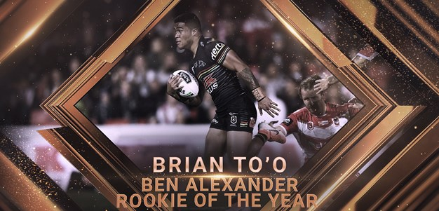 2019 Ben Alexander Rookie of the Year: Brian To'o