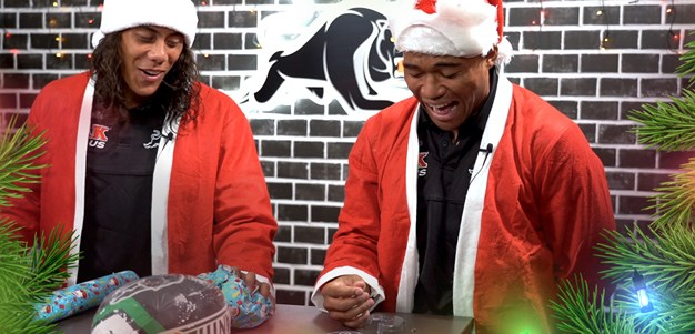 Panthers Xmas Wrapping Challenge: Episode 2