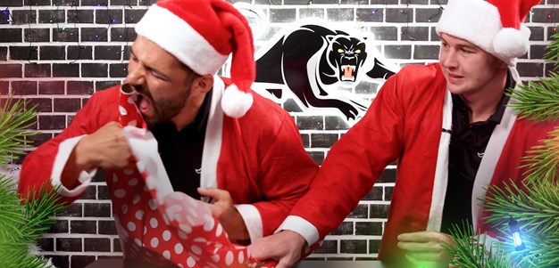 Panthers Xmas Wrapping Challenge: Episode 1