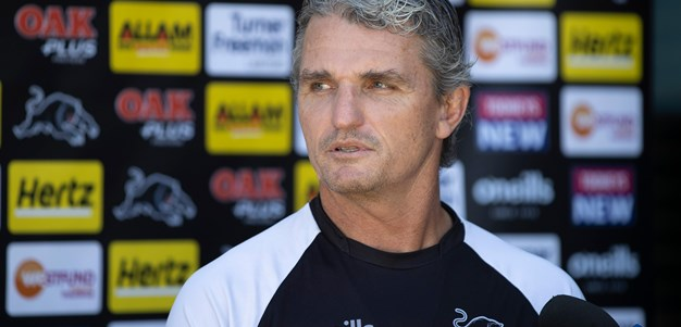 Cleary responds to prospect of empty stadiums
