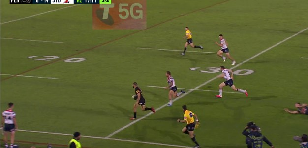 Mansour's sublime assist gifts Crichton a four-pointer