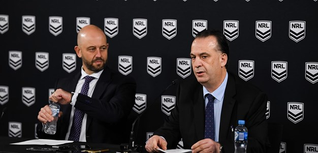 NRL Press Conference: The Next Steps