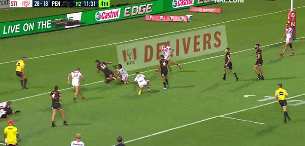 Mansour claims another try assist