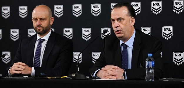 NRL Press Conference: The Decision