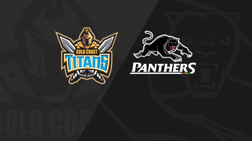 Rnd 11 2020 - Panthers v Titans
