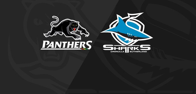 Rnd 15 2020 - Panthers v Sharks
