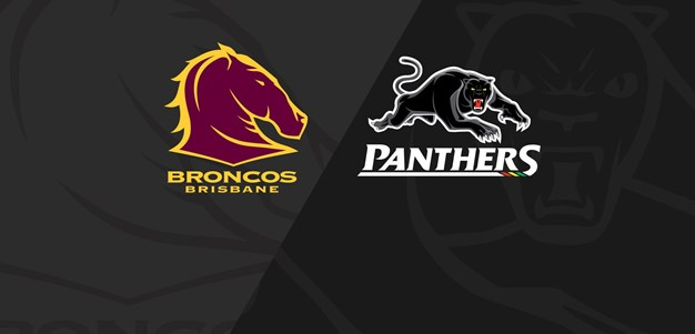 Rnd 17 2020 - Panthers v Broncos