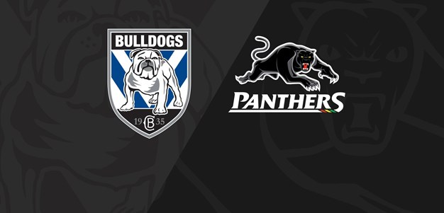 Rnd 20 2020 - Panthers v Bulldogs