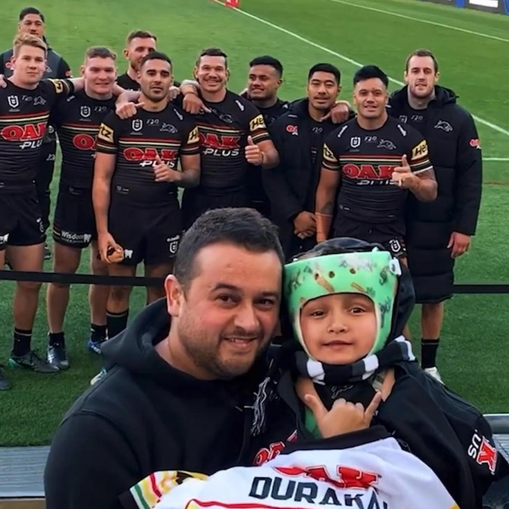 Durakai's first NRL game