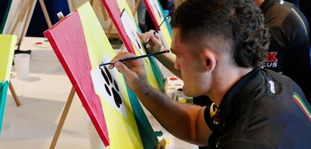 Panthers paint for Heroes With Ability