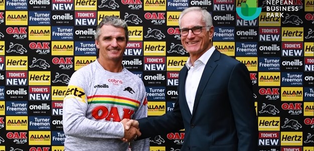 Panthers partners with Nepean Business Park