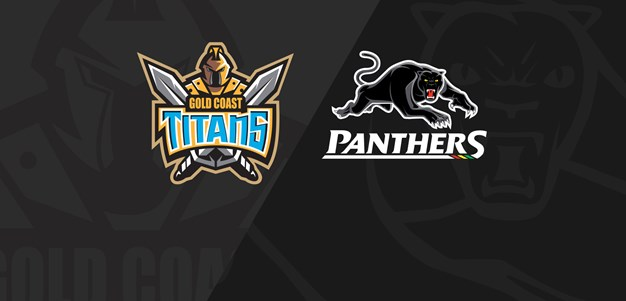 Rnd 10 2021 - Panthers v Titans