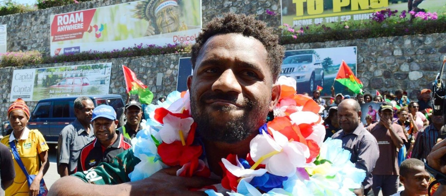 Prime Minister's XIII arrive in PNG